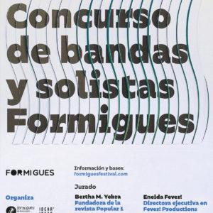 cartel III Concurso de bandas y solistas